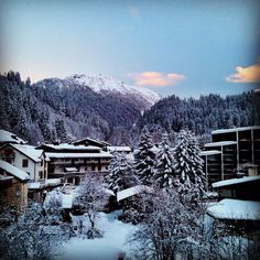 """""""The view out our window in #Argentiere #frenchalps"""" Photo taken by @elevatorappdev on Instagram"""