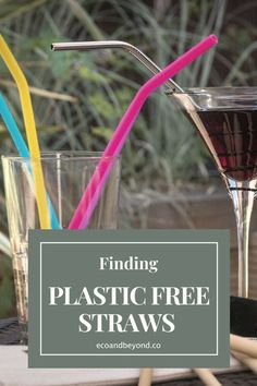 The devastation that plastic straws cause is now known everywhere - did you see THAT turtle video, ouch! There are plenty of reusable alternatives to plastic straws on the market, but which is best? We've tested some of the best plastic free reusable straws for more sustainable living. #plasticfree #ecolifestyle #zerowaste