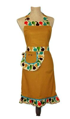 Reserved for My Wonderful Walls  Fruit Apron by TheSapphireKey, $37.50