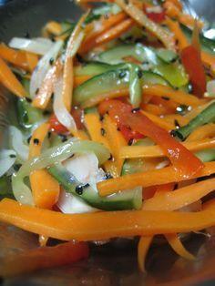 Brisando na Cozinha: Salada Japonesa