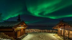 Magical: The Northern Lights are a magical natural phenomenon that draw travellers from all over the world