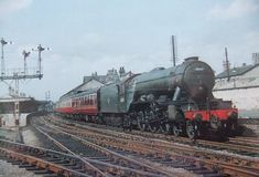 Diesel Locomotive, Steam Locomotive, Flying Scotsman, Steam Railway, Train Pictures, Steam Engine, Great Britain, Cathedral, British