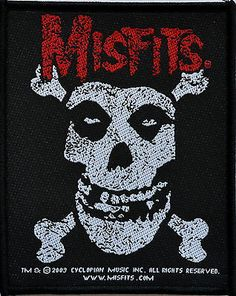 Official Misfits Patch  http://www.ebay.co.uk/itm/Misfits-Patch-punk-heavy-metal-rock-leather-denim-jacket-horror-american-psycho-/281211158249?pt=UK_Women_s_Vintage_Clothing&hash=item41797dbee9
