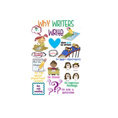 Why Writers Write Poster by JojoBeansGoodies on Etsy