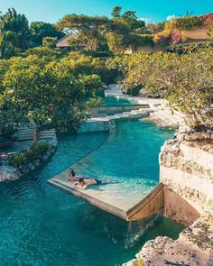 Couple's recluse or Famjam fun🤩😍💃🏻 Bali has something for you and everyone 💕.Join us in our Bali exclusive vacays only with _ . Luxury Swimming Pools, Luxury Pools, Dream Pools, Swimming Pool Designs, Dream Vacation Spots, Dream Vacations, Beautiful Vacation Spots, Vacation Style, Vacation Trips