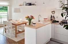Cupboard, Kitchen Design, Kitchen Ideas, New Homes, Interior Design, Table, Room, Inspiration, Furniture
