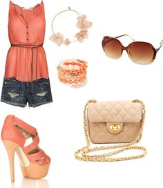 summer beauty, created by arielollie on Polyvore