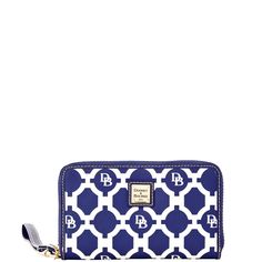 Dooney & Bourke | Sanibel Zip Around Phone Wristlet | This Zip Around Phone Wristlet packs a lot of style and versatility into a compact accessory.
