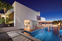 Uma casa deslumbrante em Laguna Beach