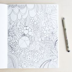 Learn about Creative Doodling and How to Doodle for Fun and Relaxtation