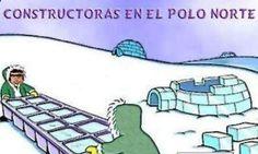 humor grafico constructora polo norte