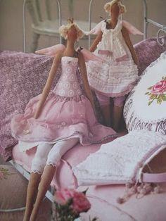Lydias Treasures: Tilda Sew Along Doll Part 1