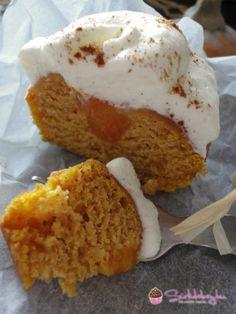 Narancsos-sütötökös cupcake Muffins, Food And Drink, Low Carb, Xmas, Ice Cream, Cupcakes, Pudding, Snacks, Baking