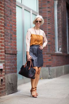 Take some hints from NYC spring street style. Click for more!