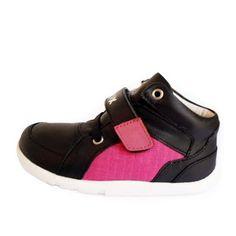 Zapatos negros Bobux infantiles IVEeb9JrI