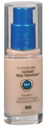 CoverGirl Outlast Stay Fabulous 3-in-1 Foundation + Broad Spectrum SPF 20
