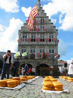 "Gouda Market in the Nertherlands  Duke ""Do... you...like ....cheese?"" Viola:""Why yes I do. My favorite's Gouda!"" @Kimberly Fridsma"