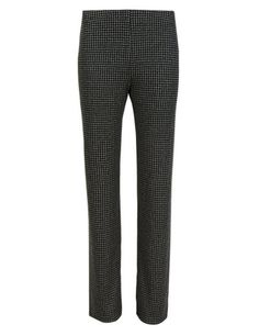 Dogtooth Textured Slim Leg Trousers | M&S