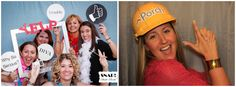 I can't think of a better way to spice up a party than with a photo booth!