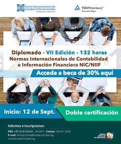 #NOVOCLCIK esta con #CIBEI y su diplomado NIC NIIF VII Edición