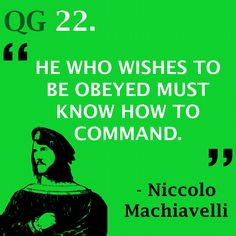 A true leader understands the needs of his people  #quote #niccolomachiavelli