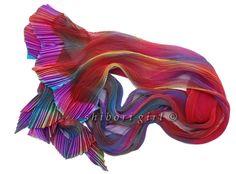 Purple haze 100% silk scarf  http://shiborigirl.bigcartel.com/product/purple-haze