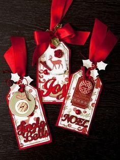 Christmas tags: how to