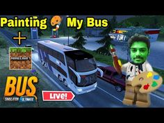 Painting My Bus 😍 Bus Simulator Ultimate live stream Hindi 2021 & Minecraft #bussimulatorultimate - YouTube Minecraft, Live Stream, Youtube, Entertaining, Games, Videos, Gaming, Youtubers, Funny