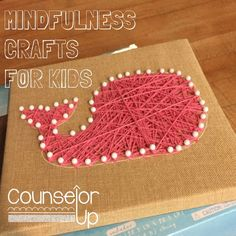 Counselor Up: Mindfulness Crafts for Kids. Pinned by SOS Inc. Resources. Follow all our boards at pinterest.com/sostherapy/ for therapy resources.