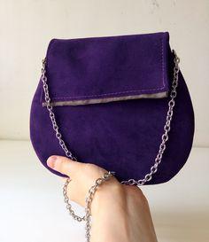 clutch pochette regali natale, borsa in pelle negozi italiani, borsa tracolla in acciao e interno in raso, accessori made in italy di BBagdesign su Etsy
