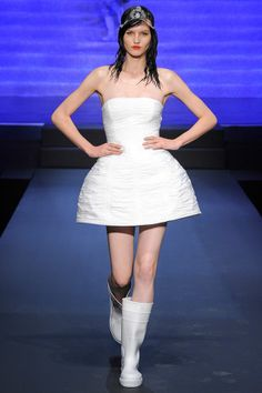 The 50 Best Bridal Looks from the Spring 2015 Collections – Vogue - Jean Paul Gaultier