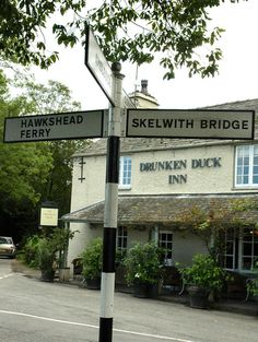 Drunken Duck, Lake District - a place to try