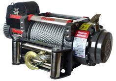 Treuil Electrique Warrior  9070kg 24v   ✓ ref: 200SS24a   Les caractéristiques exceptionnelles comprennent un moteur de 7,5 hp de haute qualité à double roulement étanche avec raccords en laiton, contacteurs robuste imperméable à l'eau. Poids du treuil 67kg   ☞ - 0%