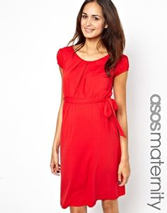 Browse online for the newest ASOS Maternity Exclusive Kate Dress With Belt And Scoop Neck styles. Shop easier with ASOS' multiple payments and return options (Ts&Cs apply). Plus Size Maternity Dresses, Asos Maternity, Maternity Fashion, Maternity Styles, Pregnancy Fashion, Maternity Clothing, Kate Dress, Fairytale Fashion, Plus Size Pregnancy