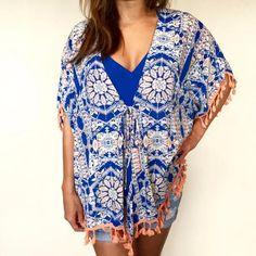 Clothing – L&M Studio Veronica M Kimono Top with tassels