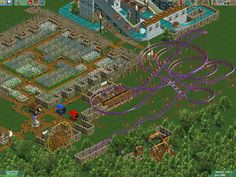 Infogrames released Roller Coaster Tycoon 2 in the year it& a simulation game, part of the Roller Coaster Tycoon series. Roller Coaster Tycoon, Retro Games, Simulation Games, City Photo, Video Games, Childhood, Gaming, Games, Videogames