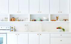 The+Most+Stylish+IKEA+Kitchens+We've+Seen+via+@MyDomaine