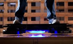 Hendo hoverboard: Where we're going we don't need roads…