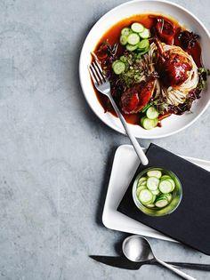 Asian Recipes, Ethnic Recipes, Pasta, Noodles, Food Porn, Good Food, Meals, Dinner, Macaroni