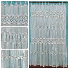 Macrame curtains! It will give an original touch to the decoración of your windows. Take advantage of the introduction price, write us to #hamacart