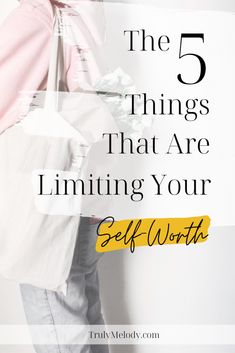 See why these 5 things may be limiting yourself worth and how to level it up instead.  #SelfWorth #Selflove #SelfCare #Love Life #PersonalDevelopment  #SelfImprovement #SelfGrowth  #Personal Growth #Love #Self Love #Confidence Self Conscious, Love Tips, Love Your Life, Love You More, 5 Things, Anxious, Self Improvement, Self Care, Personal Development