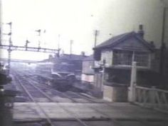 Goole Railway Station and Town Centre circa 1960