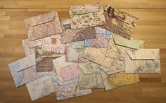 lots of map envelopes !!