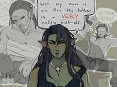 What a brave half elf <br> Dungeons And Dragons Characters, D&d Dungeons And Dragons, Dnd Characters, Fantasy Characters, Ex Memes, Memes Humor, Character Concept, Character Art, Animation Character