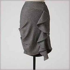 Anthro Inspired - DIY Custom Sized Ruffle Skirt Pattern