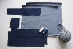 Nähanleitung für einen Turnbeutel » BERNINA Blog Camisa Vintage, Balenciaga, Tiffany & Co., Saint Laurent, Old Jeans, Baby Sewing, Gym Bag, Diy And Crafts, Textiles