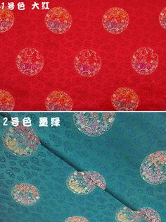 Oriental Dragon Pattern Design Brocade Fabric