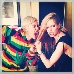 Avril&Miley