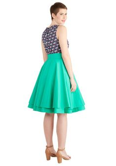Essential Elegance Skirt in Kelly Green | Mod Retro Vintage Skirts | ModCloth.com