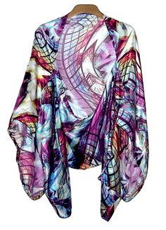DIY Kimono Jacket sure wish I knew how to sew!